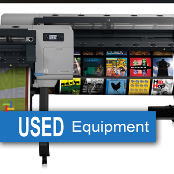 used refurbished wide format printing equipment