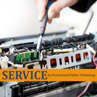 service plans wide format printers