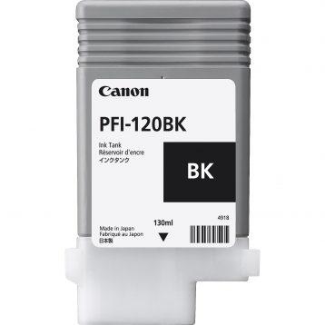 Canon Ink Tank PFI-120BK - Pigment Black Ink Tank 130ml