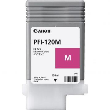Canon Ink Tank PFI-120M - Pigment Magenta Ink Tank 130ml